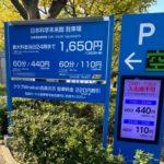 日本科学未来館 駐車場料金